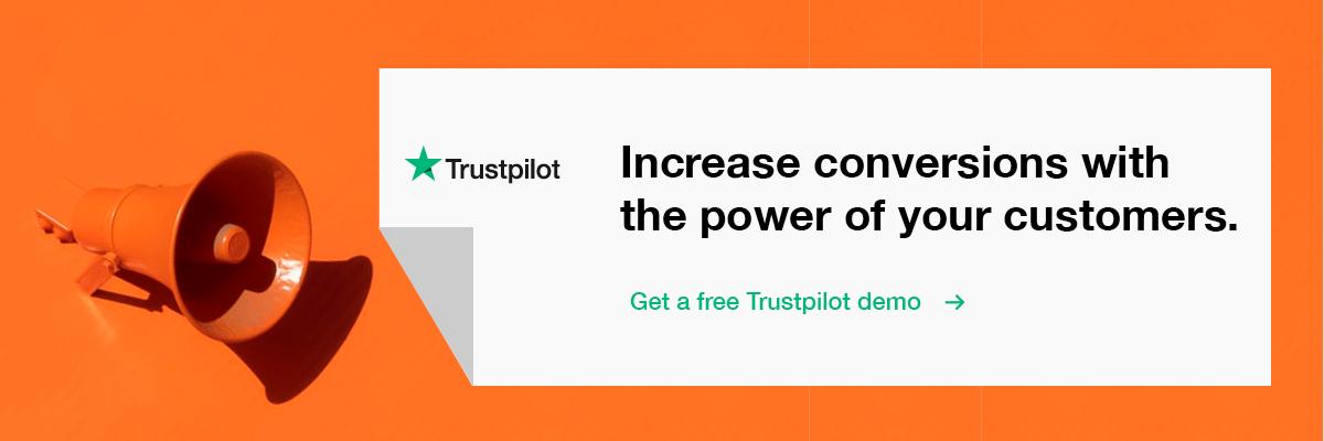 request a trustpilot demo