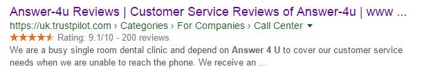 answer-4u-google-listing-example
