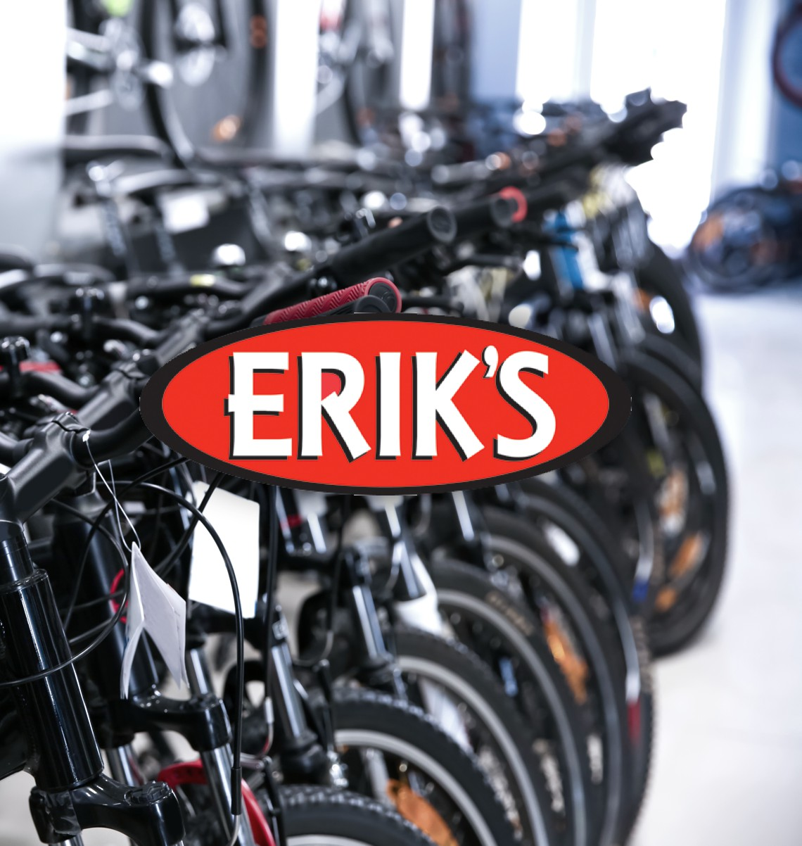 Eriks bike shop logo