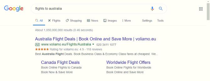 google seller ratings voliamo