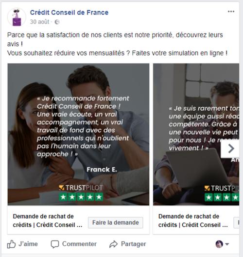partage+avis+client+trustpilot+credit+conseil+de+france+facebook+generateur+images