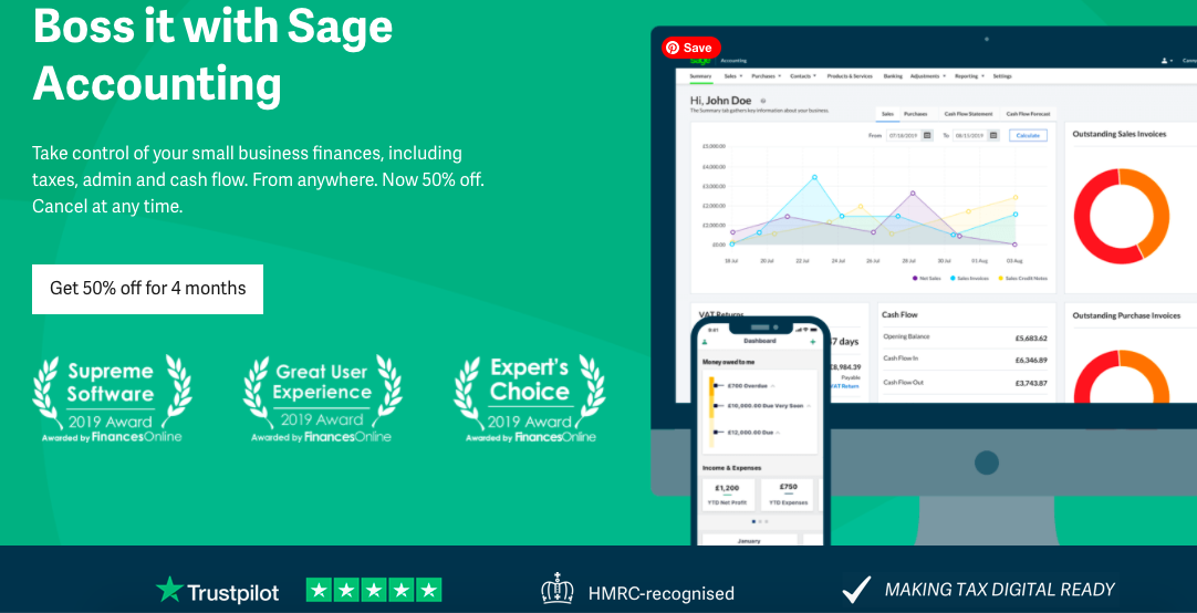 Sage - Third party verified reviews