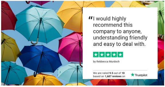 Safe Financial ads Trustpilot