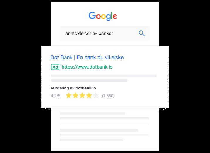NO - Google Seller Ratings