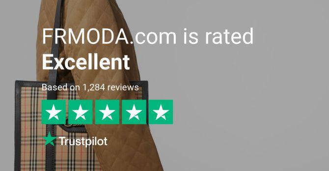 FRMODA - immagine che mostra la valutazione in stelle sui canali social di FRMODA