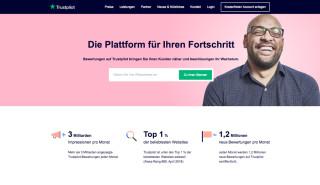Startseite von de.business.trustpilot.com
