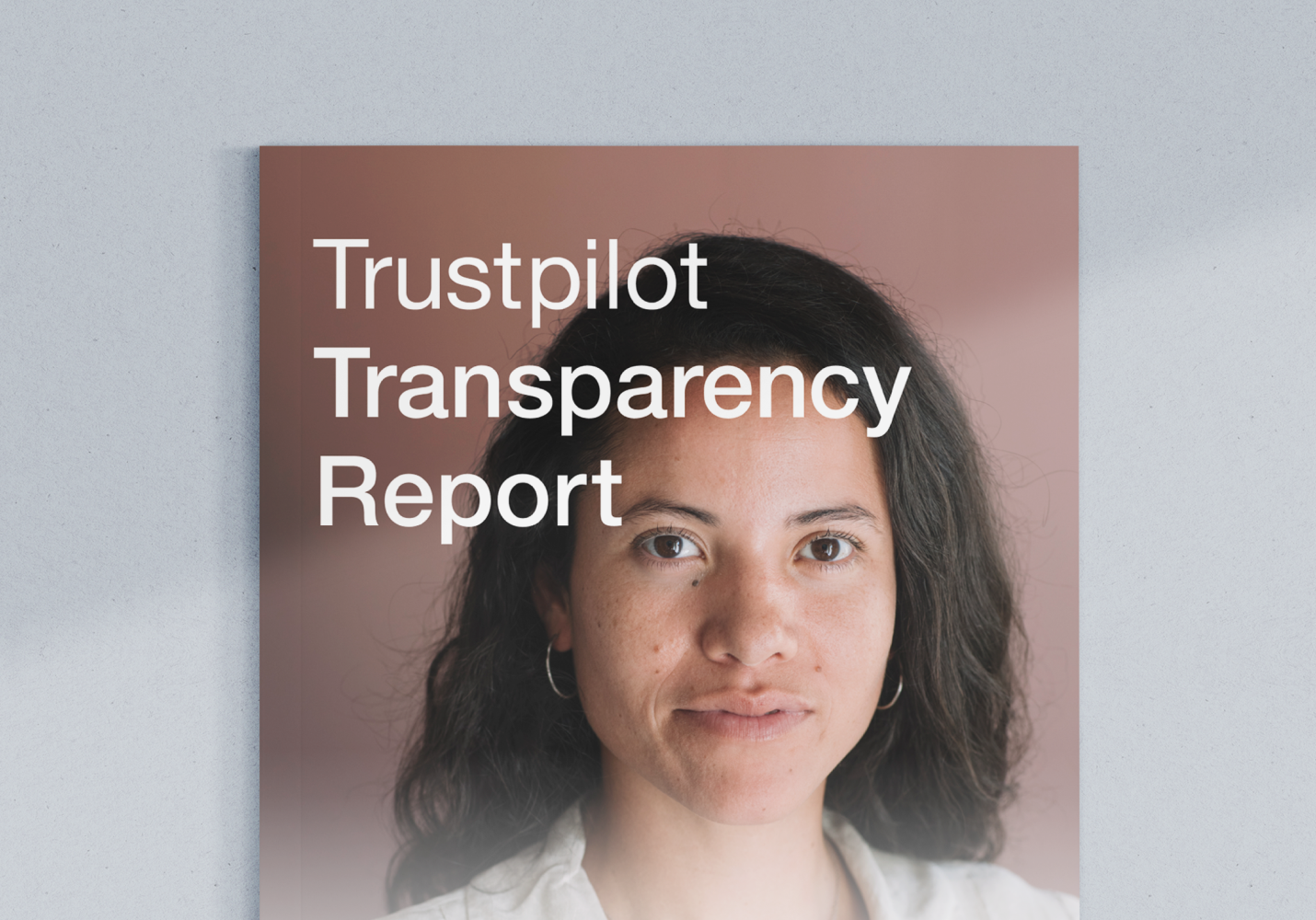 Transparency report cover