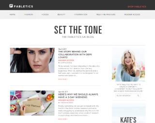 Fabletics - blog
