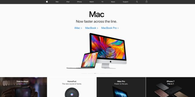 Apple,+website,+indlæsningshastighed
