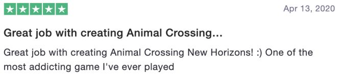 Great job with creating Animal Crossing...