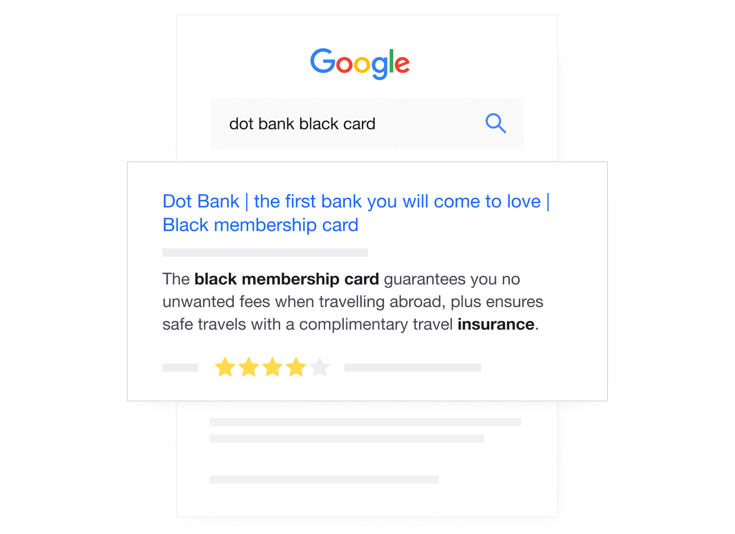 Trustpilot Product Reviews on Google search