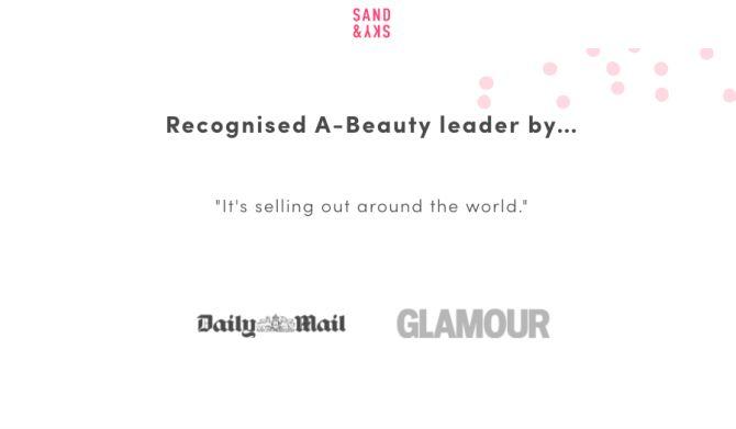Come Sand & Sky mostra i loghi delle testate giornalistiche e dei magazine