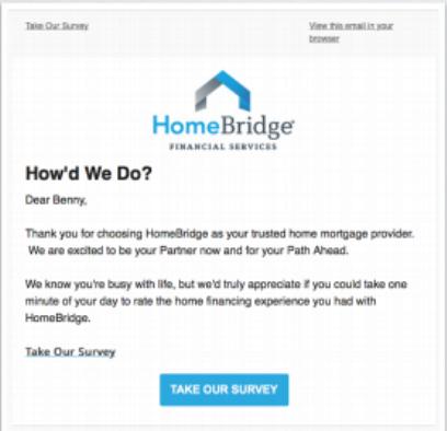 Homebridage review invitation