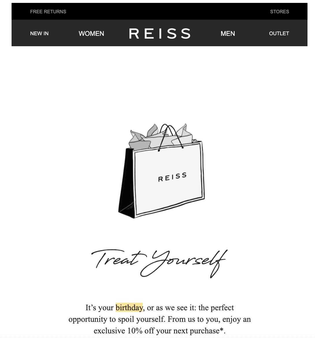 personalized birthday email