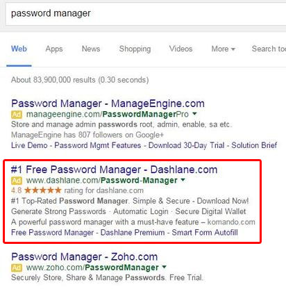 password manage