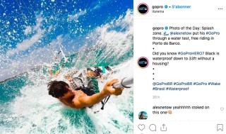 GoPro user-generated content example
