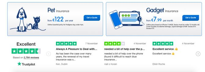 Reviews of Blue Insurance