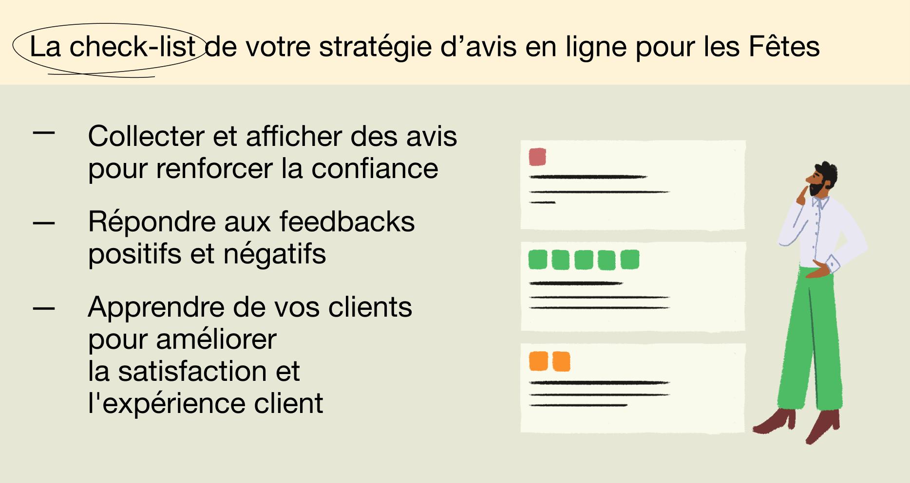FR - Holiday report 2021 - La check-list de votre stratégie d'avis en ligne pour les Fêtes