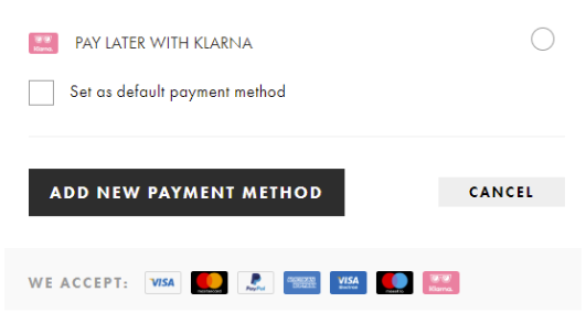 payment methods can improve customer experience