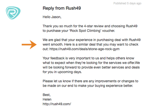 Rush49-review-reply-example