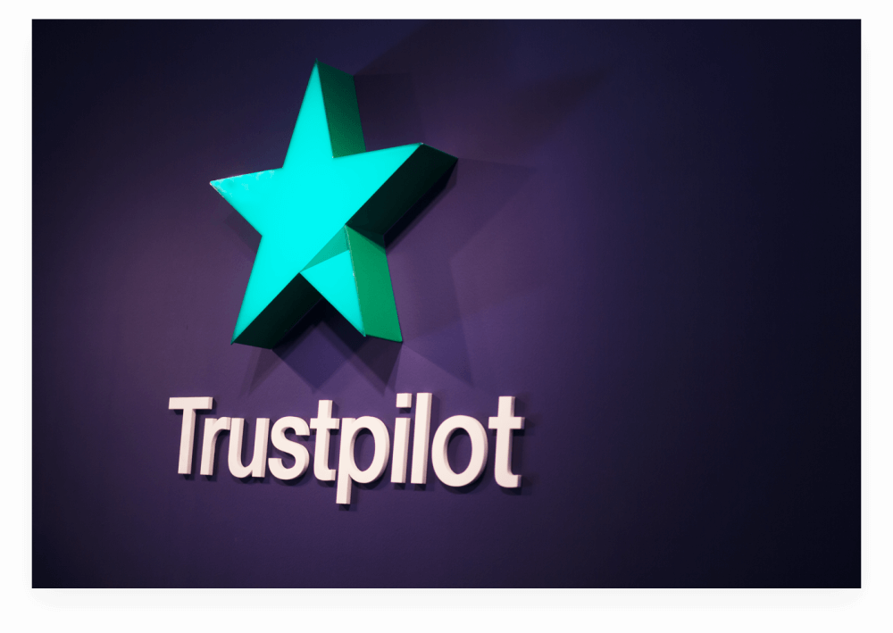 Trustpilot office logo shadow
