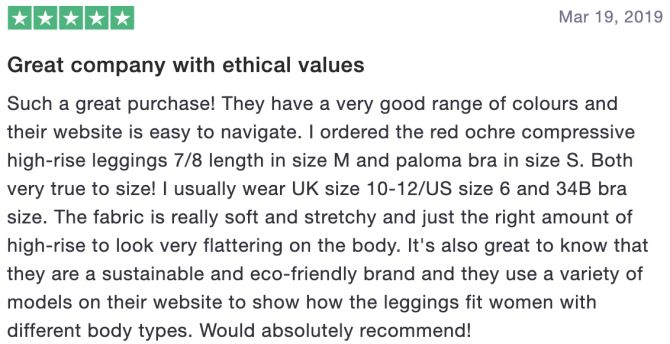 Great company with ethical values
