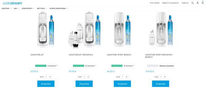 Le Recensioni dei Prodotti di SodaStream