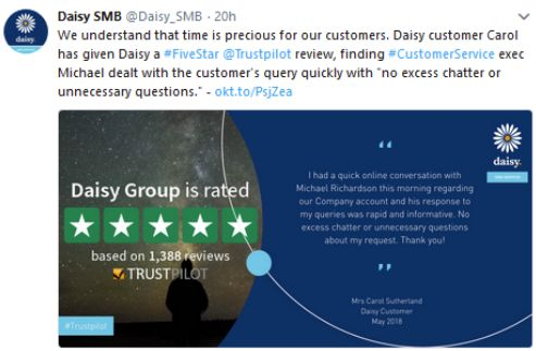 The Daisy Group case study