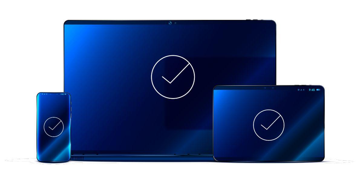 Desktop, Tablet, Smartphone
