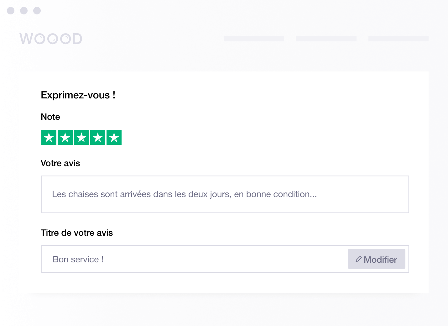 FR - Embedded Review Form