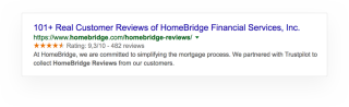 rich snippets from service reviews 02