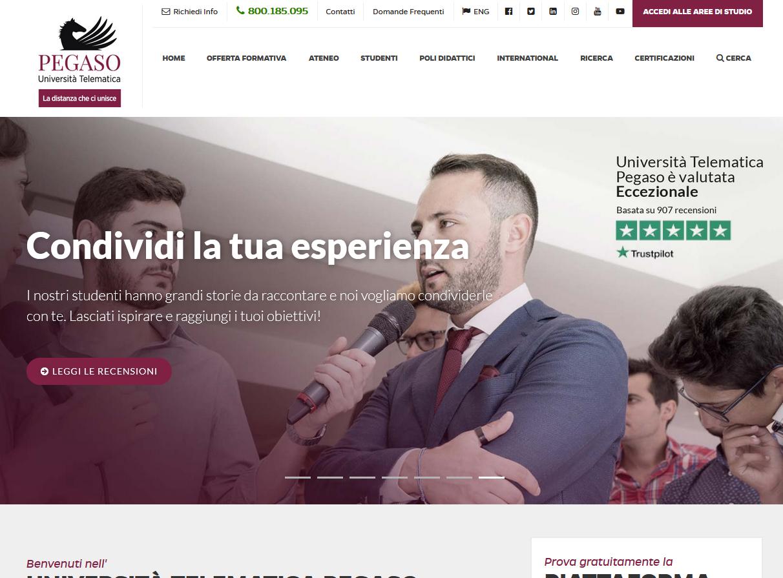 Unipegaso - Homepage