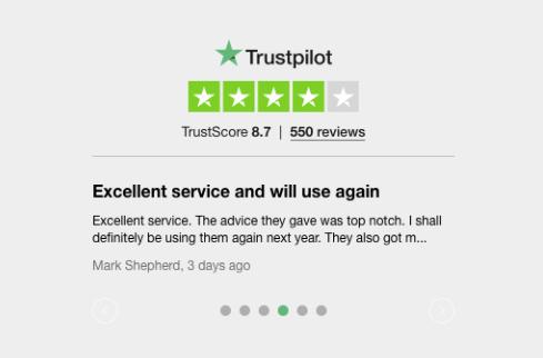 Rift refunds Trustpilot reviews