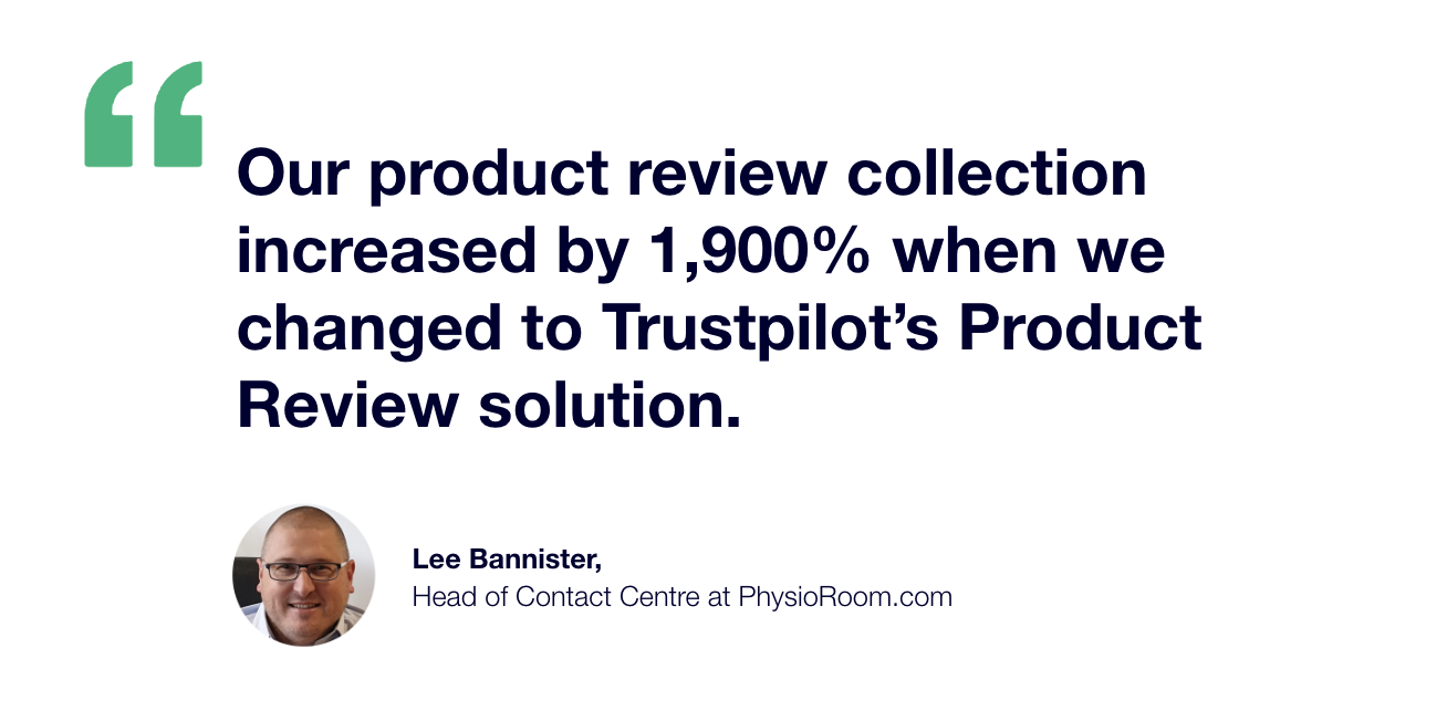 Lee Bannister reviews increased by 2000 percent
