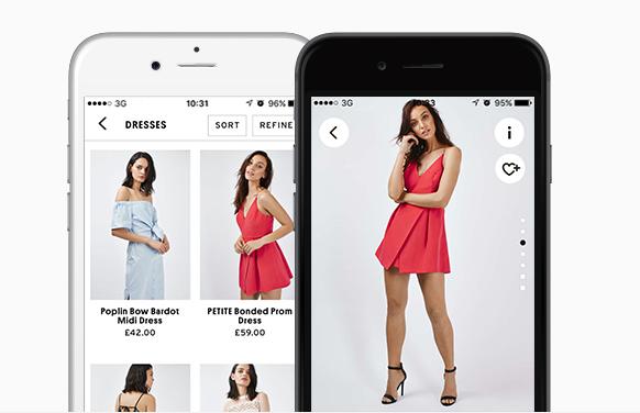 Topshop on the go app trustpilot omnichannel strategy