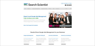 partner screenshot searchscientist