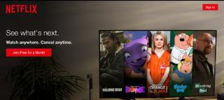 Netflix, Invito all'azione, CTA