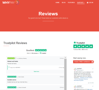 WHYPAY TP reviews