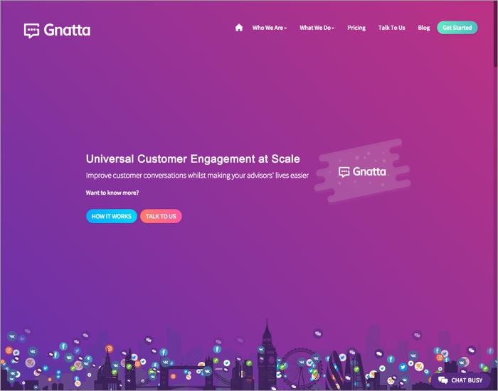screenshot gnatta website 700x550