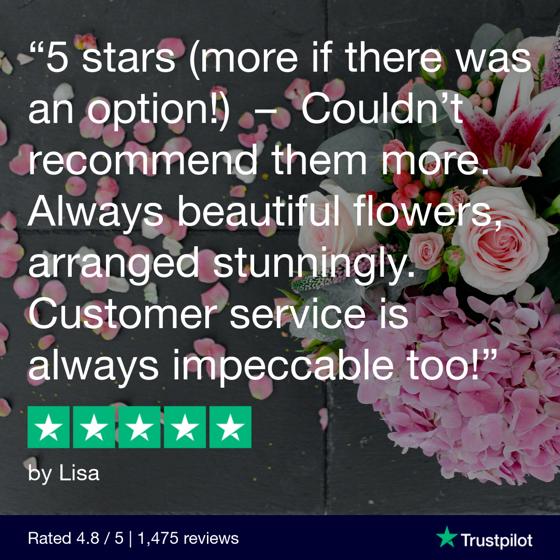 Flowers.ie reviews social media