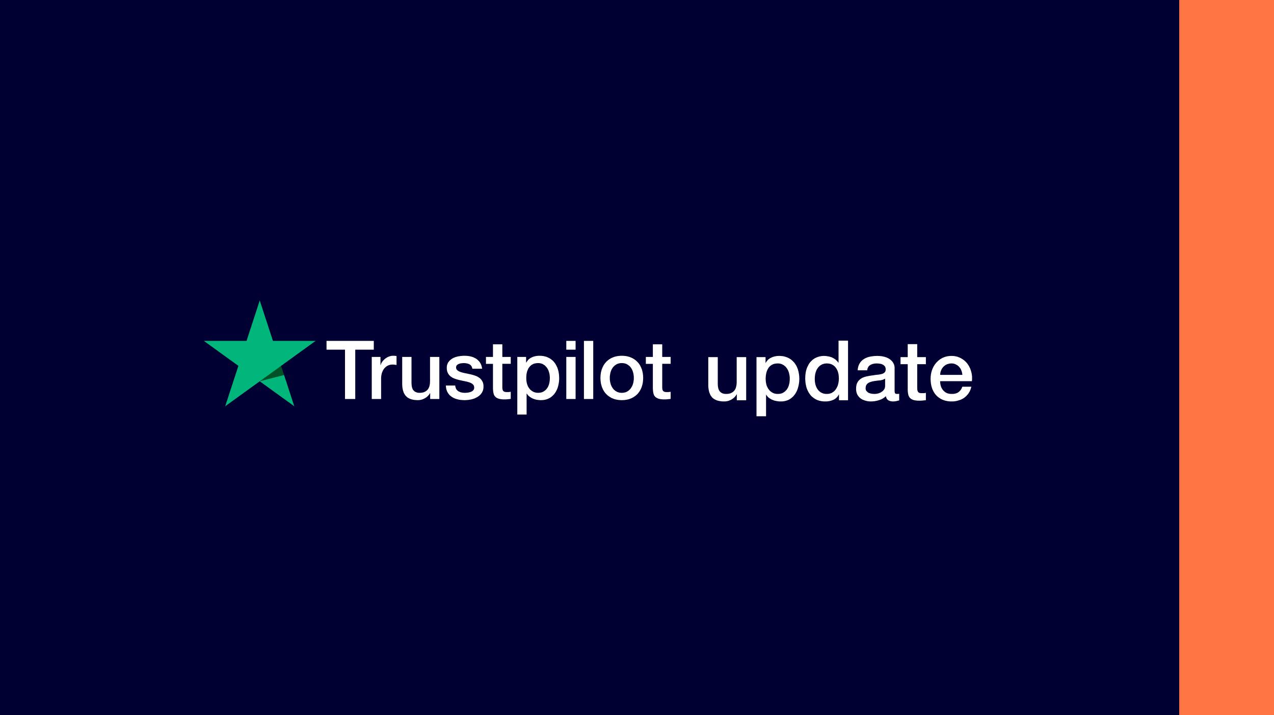 Trustpilot update