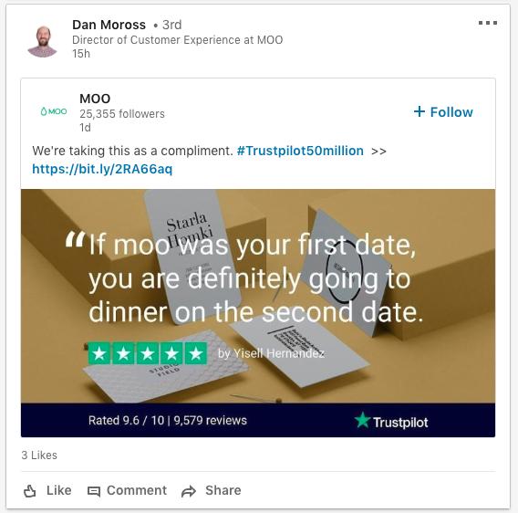 Moo trustpilot reviews