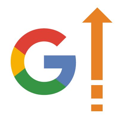 Google up arrow