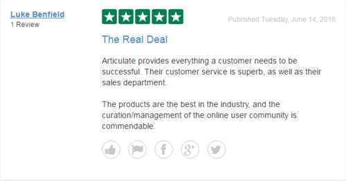 indholdsrig anmeldelse, kundeoplevelse, kundefeedback