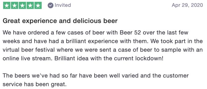 Review of Beer52