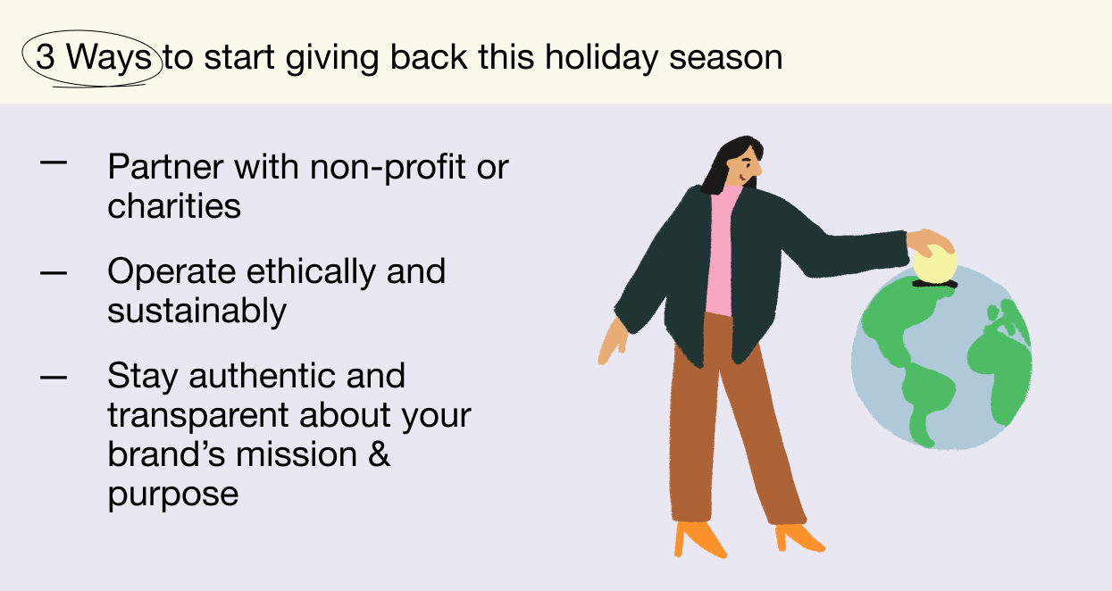 3 ways to start giving back this holiday season