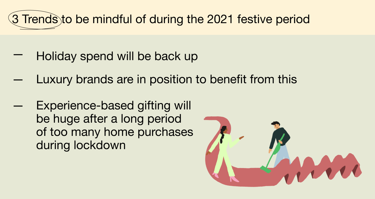 3 trends to be mindful of during the festive period