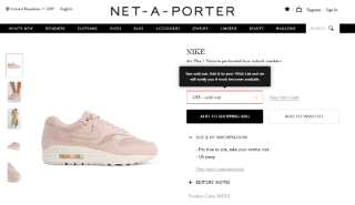 net a porter sold out-screenshot-trustpilot