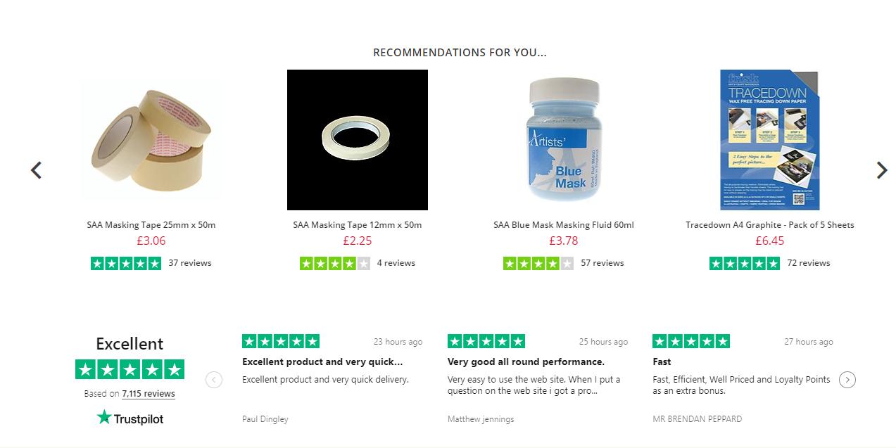 Nosto recommandations