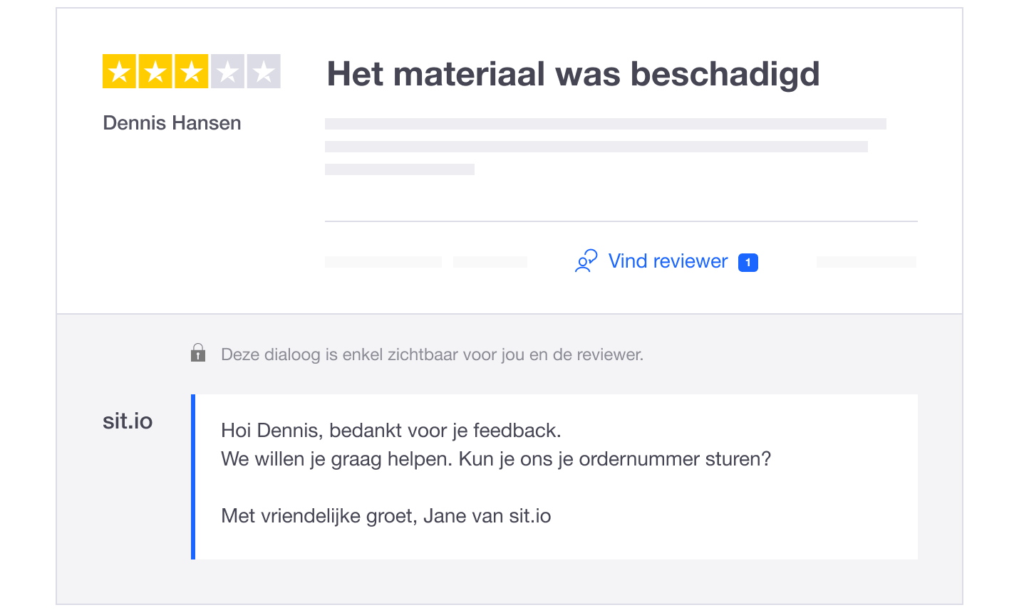 NL - Reviewer tool